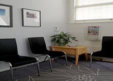 Waiting Area for therapist Diane Dubois